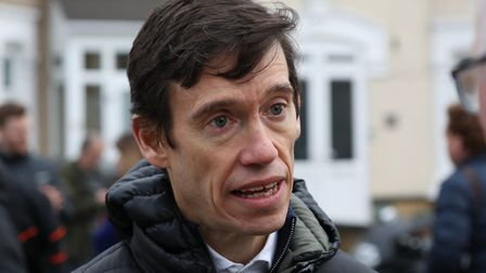 Former Tory MP Rory Stewart in Ilford in east London. Photograph: PA Wire/PA Images.