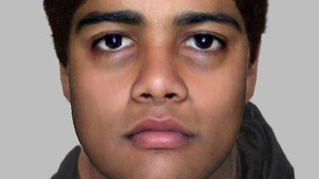 An efit of a man police want to speak to. Picture: Met Police