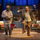 Kunene and The King Antony Sher and John Kani in the RSC production at Ambassadors Theatre