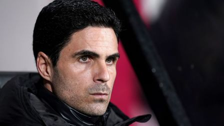 Arsenal manager Mikel Arteta during the FA Cup fourth round match at Vitality Stadium, Bournemouth.