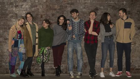 The cast of Lovepuke. Picture: Amy Taylor Productions