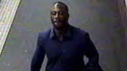 Police want to speak with this man in connection to an assault on a Piccadilly Line Train. Picture: