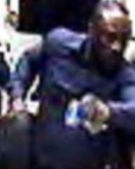 Piccadilly Line assault. Picture: British Transport Police