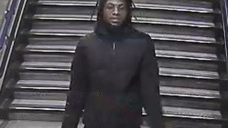 Police wish to speak to this man after robbery between Dollis Hill and Wembley Park on Jubilee Line.
