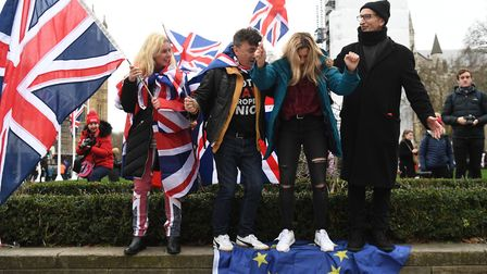 The UK left the European Union at 11pm on Friday, January 31, 2020. Picture: PA WIRE