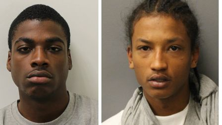 Dominic Calder and Mikel Mulqueen guilty of murdering Meshach Williams. Picture: Met Police