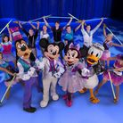Mickey Mouse Disney royalty. Picture: FELD ENTERTAINMENT/DISNEY ON ICE