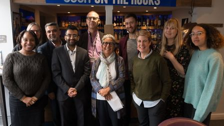 The Lexi team with community partners and Brent Council councillors, and the Lexi team