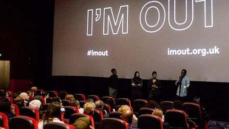 The I'm Out film premiere. Picture: Haringey Council