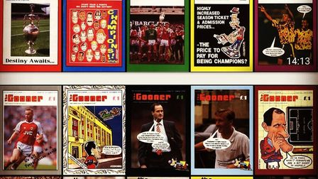 The Save the Gooner campaign is up and running. Picture: The Gooner Fanzine