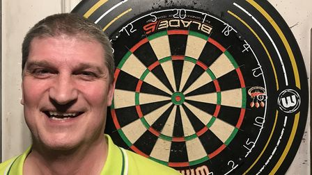 Bob Triggs of Kennedy's in the Archway Darts League. Picture: James Martin