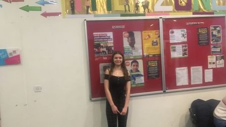 Zone Youth Club volunteer Lily Tunbridge is the Ben Kinsella Award winner for 2020. Picture: Lucas C
