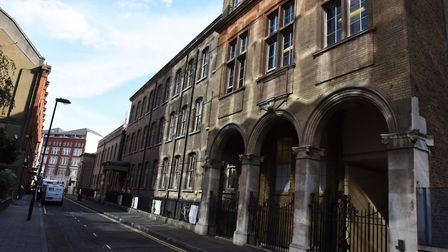 The Central Foundation Boys School in Cowper Street EC2