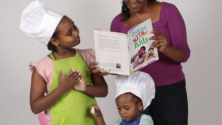 Susanne Kirlew aka Curly Sue from Islington has written a vegan cook book for kids