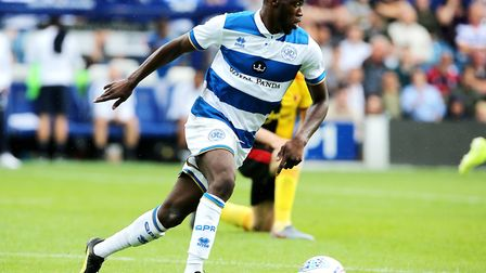 Queens Park Rangers' Olamide Shodipo on the ball against Watford in pre-season. Picture: Mark Kerton