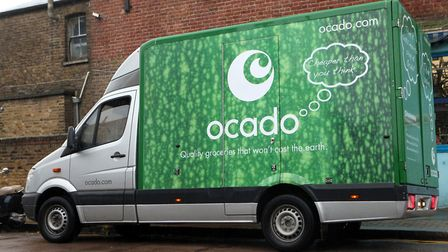 A generic stock photo of an Ocado home delivery van. Picture: Kate Collins/ PA