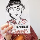 Musician and artist Paperface is debuting his first exhibition back at home in Queen's Park. Picture