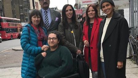 Cricklewood Lane patients fear the closure of their walk in centre. Picture: Cllr Lia Colacicco