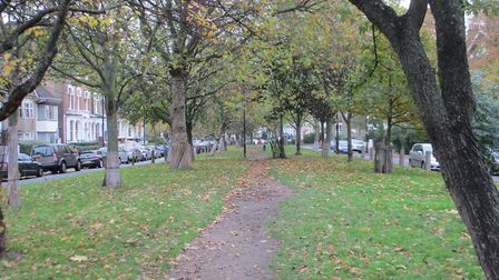The New River Walk in Petherton Road. Picture: Matt Brown (CC BY 2.0)