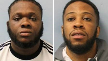 Darren Buchanan and Cameo Joseph have been jailed for stealing high-end watches at knifepoint. Pictu