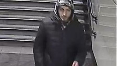 Image of man police wish to speak to. Picture: BTP