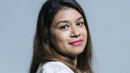Hampstead and Kilburn MP Tulip Siddiq thanks volunteers for helping out during the coronavirus crisi