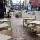 Cafes and pubs are particularly badly hit after the prime minister advised people not to go to them