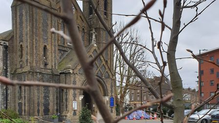 St John the Evangelist is staying open throughout the coronavirus crisis. Picture: @STKensal