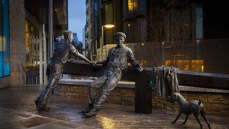 The Opening the Lockgate statue. Picture: Jonahan Cosh of Visual Eye