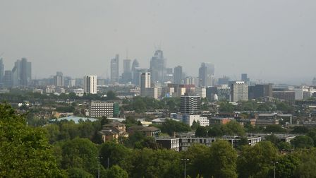The view from Parliament Hill. Picture: KEN MEARS