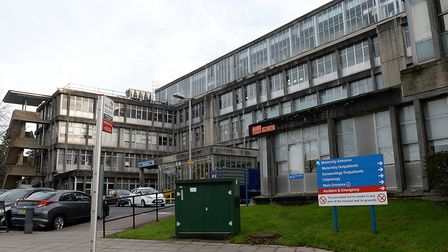 General view of Northwick Park Hospital,. Picture: PA/Anthony Devlin