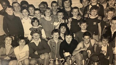 A club awards night held at Michael Sobell Centre late 1970s