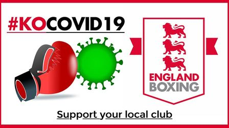 England Boxing clubs are appealing for support to #KOCOVID19
