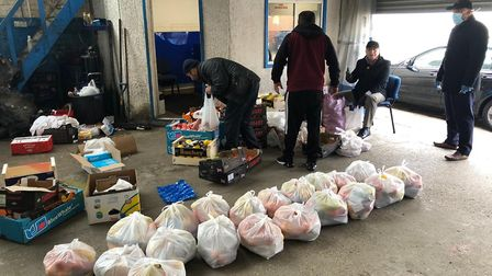 The Iraqi Welfare Association is delivering food to vulnerable people in Brent during the coronaviru