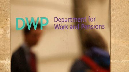 Undated file photo of signage outside the Department of Works and Pensions in central London. Union