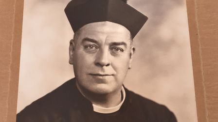 Father Eldred Thomas Tipper was vicar of St Johns from 1933-66. Picture: Parish Church of Saint John