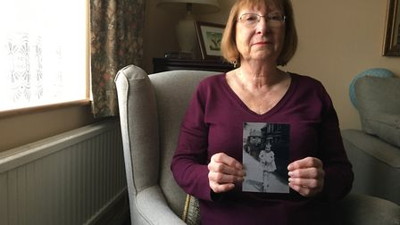 Edna Wilson was four years old when the Second World War ended and can recall going to Buckingham Pa