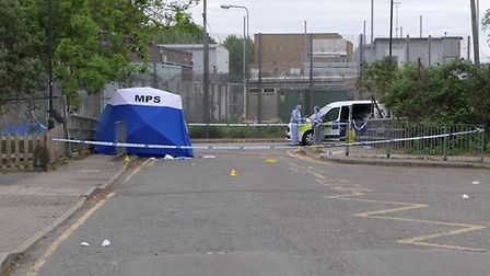 A woman is in a stable condition after being stabbed in Neasden. Picture: David Nathan