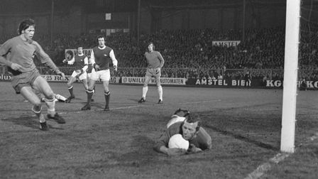 Action from Arsenal Fairs Cup semi-final second leg against Ajax. Picture: Nationaal Archief/Wikimed
