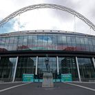 A general view of Wembley Stadium