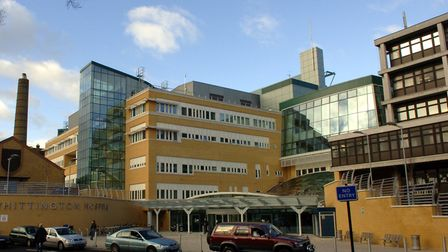 Whittington Health NHS Trust. Picture: PA WIRE