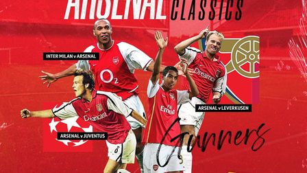 BT Sport are showing highlights from four of Arsenal's classic European matches from the past 20 yea