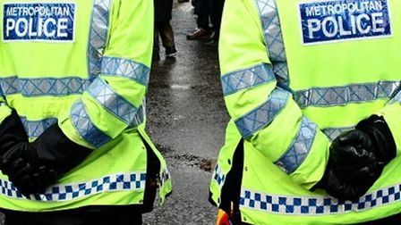 Stock image of police. Picture: Met Police