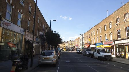 A file image of the Highbury end of Blackstock Road. Picture: David Howard/Geograph/CC BY-SA 2.0