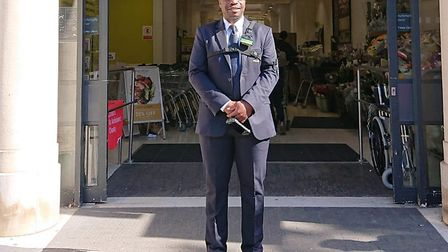 Holloway Waitrose' hero security guard Victor Ikeakhe helped police catch Ismail Musa after he stab