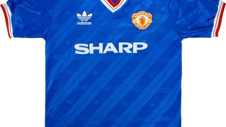Manchester United's 1986 third strip is the third most valuable club jersey according to research by