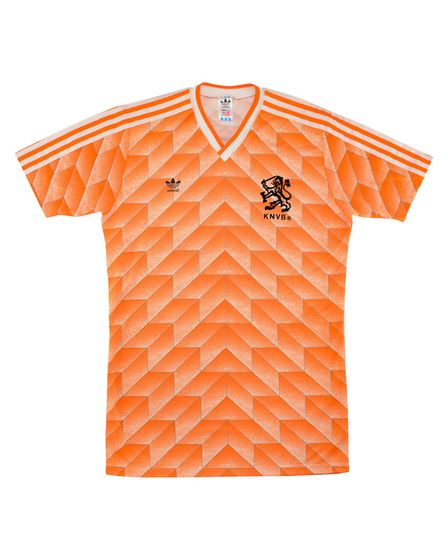 Holland's 1988 jersey is the most valuable international shirt according to research by casumo