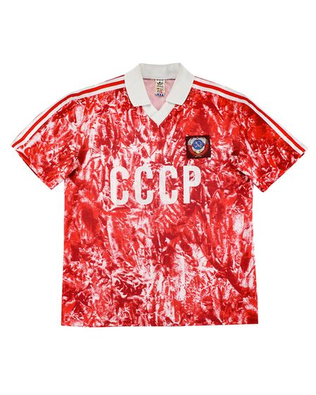 The Sovient Union's shirt from 1989-91 is the third most valuable international shirt according to r