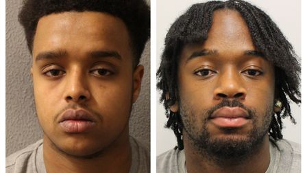 L-R: Mohammed Musse and Ramani Boreland. Picture: Met Police