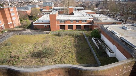 The former Holloway Prison site. Picture: PA
